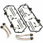 For 7.3 94-97 Ford Powerstroke Valve Cover Gaskets Harnesses Diesel w 8Glow Plug
