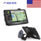 """Universal 7"""" Car Truck GPS Navigation System 4GB Navigator Sat Nav"""