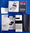 Canon TP-8 Pocket Palm Printer / Calculator w/Box and Instructions EUC