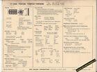 1969 PONTIAC TEMPEST/FIREBIRD V8 350 ci / 265 hp Car SUN ELECTRONIC SPEC SHEET