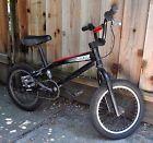 "2004 16"" Giant GFR BMX bike  Black - Cane Creek Headset"