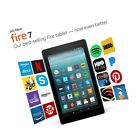 "All-New Fire 7 Tablet with Alexa 7"" Display 8 GB Black - with Special Offers"
