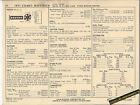 1971 FORD MERCURY COMET/MAVERICK 100 hp / 170 ci Car SUN ELECTRONIC SPEC SHEET