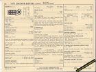 1971 CHECKER MOTORS AEROBUS 350 ci / 215 hp Engine Car SUN ELECTRONIC SPEC SHEET