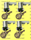 Set of 4 RV Camper Motorhome Compartment Storage Door Cam Lock KEYED ALIKE