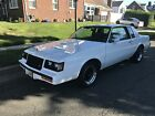 1987 Buick Regal Grand National Coupe 2-Door BUICK T TYPE 49000 MILES FRAME UP COMPLETED 6 MONTHS AGO SHARP CAR