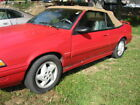 1991 Pontiac Sunbird LE 1991 Pontiac Sunbird Convertible 94K Very Clean and Solid inside and out
