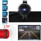 Metal Waterproof Car License Plate 170° Rearview Reverse Backup Parking Camera
