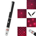 2PC 1mW Power Laser Pointer Pen Visible Beam Light Lazer 532nm Cat Toy Star Red