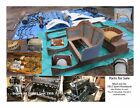 1911 Ford Model T  Engine and Parts Lot 1911 Ford Model T Runabout