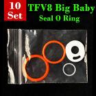 10 Sets/ Seal O Rings For SMOK TFV8 Big Baby Beast TANK FREE SHIPPING