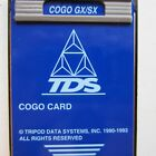 TDS Survey COGO Card and Overlay for use with HP-48GX Hewlett Packard Calculator