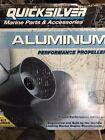 "Marine Quicksilver Propeller Diameter 13""  Pitch 19 3RH AL Part # QA2038X"