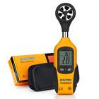 Anemometer, RISEPRO® Digital Mini LCD Wind Speed Gauge Air Flow Speed Meter & Te