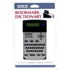 ZELCO 90032 The Bookmark Dictionary - Blue -