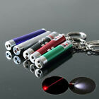 6PCS 3 In 1 LED Laser Pointer Pen Light Bright Mouse Animation Pet Cat Funny Toy