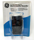 GE Microcassette Voice Recorder VOR Model 3-5380s. Auto Voice-Activated NEW!!