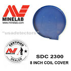 NEW MINELAB SDC 2300 METAL DETECTOR ROUND 8 INCH BLUE COIL COVER