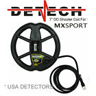 "NEW Detech 7"" SHOOTER DD Coil For Whites MX SPORT Metal Detector"