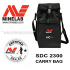NEW MINELAB CARRY & STORAGE BAG FOR MINELAB SDC 2300 GOLD METAL DETECTOR