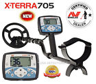 NEW MINELAB X-TERRA 705 METAL DETECTOR With FREE SHIPPING !