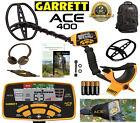 Garrett ACE 400 Metal Detect With Daypack, HP, Coil Cover, Enviro Cover & MORE !
