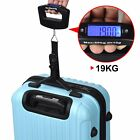 50kg Portable Hanging Electronic Digital Travel Suitcase Luggage Weigh Scales CS