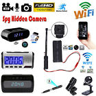 WIFI 1080P HD Spy Hidden IP Camera Wireless DIY Module DV DVR NVR Nanny Cam LOT