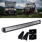 "40"" 42"" INCH ATV Auto LED Work Light Bar For Kawasaki Bayou 250 Pontoon Polaris"