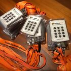 90Clickers TurningPoint ResponseCard RF RCRF-01 w batteries, lanyards, cases