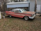 1959 Plymouth Fury  PROJECT 1959 PLYMOUTH FURY