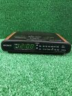 Sony Dream Machine Clock Radio with Dual Alarms ICF-C430 Wood Grain 1993 Vintage