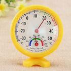 Hot Mini Round Indoor Hygrometer Humidity Thermometer Temp Temperature Meter
