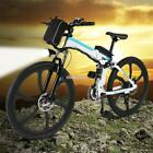 ANCHEER 26'' 27 Speed Foldable Electric Power Mountain Bicycle with EFFU 02