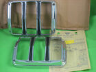 NOS 1964-66 Ford Mustang TAIL LIGHT BEZEL (pair) C5ZZ-13489-A -in orig packaging