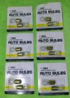 (6) packs of 2 # 1004  Auto dome courtesy Bulbs 12 pc-12 Volt Inside Trunk Dome