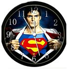 Glow In Dark Wall Clock - SUPERMAN2 (BLACK)