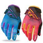 FLY Racing Kinetic Race Womens Ladies MX Dirt Bike Off Road Motocross Gloves