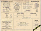 1963 OLDSMOBILE 88 32 SERIES 394 ci V8 Engine Car SUN ELECTRONIC SPEC SHEET