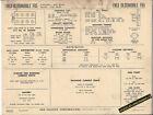 1963 OLDSMOBILE F85 STANDARD/DELUXE 215 ci V8 Car SUN ELECTRONIC SPEC SHEET