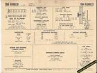 1964 RAMBLER 6 Cylinder CLASSIC SERIES 10 195 ci Car SUN ELECTRONIC SPEC SHEET