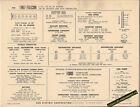 1967 FORD FALCON 6 Cylinder 170 ci/105 hp Engine Car SUN ELECTRONIC SPEC SHEET