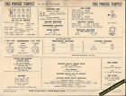 1965 PONTIAC TEMPEST V8 326 ci Engine Car SUN ELECTRONIC SPEC SHEET