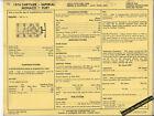 1974 DODGE PLYMOUTH CHRYSLER IMPERIAL MONACO FURY 440 ci SUN ELECTRIC SPEC SHEET