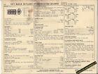 1971 BUICK SKYLARK SPORTWAGON LESABRE V8 350ci 230hp Car SUN ELECTRIC SPEC SHEET