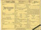 1974 FORD MERCURY MAVERICK COMET TORINO MONTEGO 250 Car SUN ELECTRIC SPEC SHEET