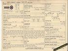 1971 CHEVROLET VEGA 4 Cylinder 90 hp / 140 ci Car SUN ELECTRIC SPEC SHEET