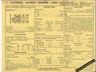 1974 FORD MERCURY MAVERICK COMET TORINO MONTEGO 302 Car SUN ELECTRIC SPEC SHEET
