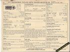 1971 OLDSMOBILE 455 CUTLASS/VISTA CRUISER/DELTA 88-98 SUN ELECTRIC SPEC SHEET