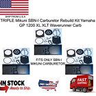 TRIPLE Mikuni SBNI Carburetor Rebuild Kit Yamaha GP 1200 XL XLT Waverunner.